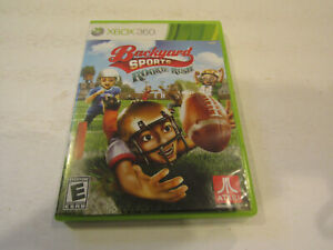 Backyard Sports Rookie Rush Xbox 360 with Manual Used Very ...