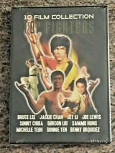 Top-Fighters-10-Film-Collection-3-Disc-DVD-Set-BRAND-NEW-FACTORY-SEALED