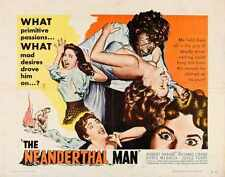Neanderthal Man Poster 02 A4 10x8 Photo Print