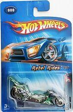 2005 Hot Wheels Rebel Rides #080 ~ Fright Bike (Green)