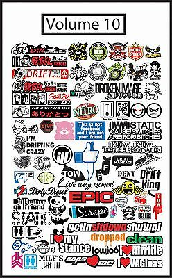 JDM VECTOR .EPS FILES GRAPHIC SIGN MAKING VINYL CUTTING VOLUME 5