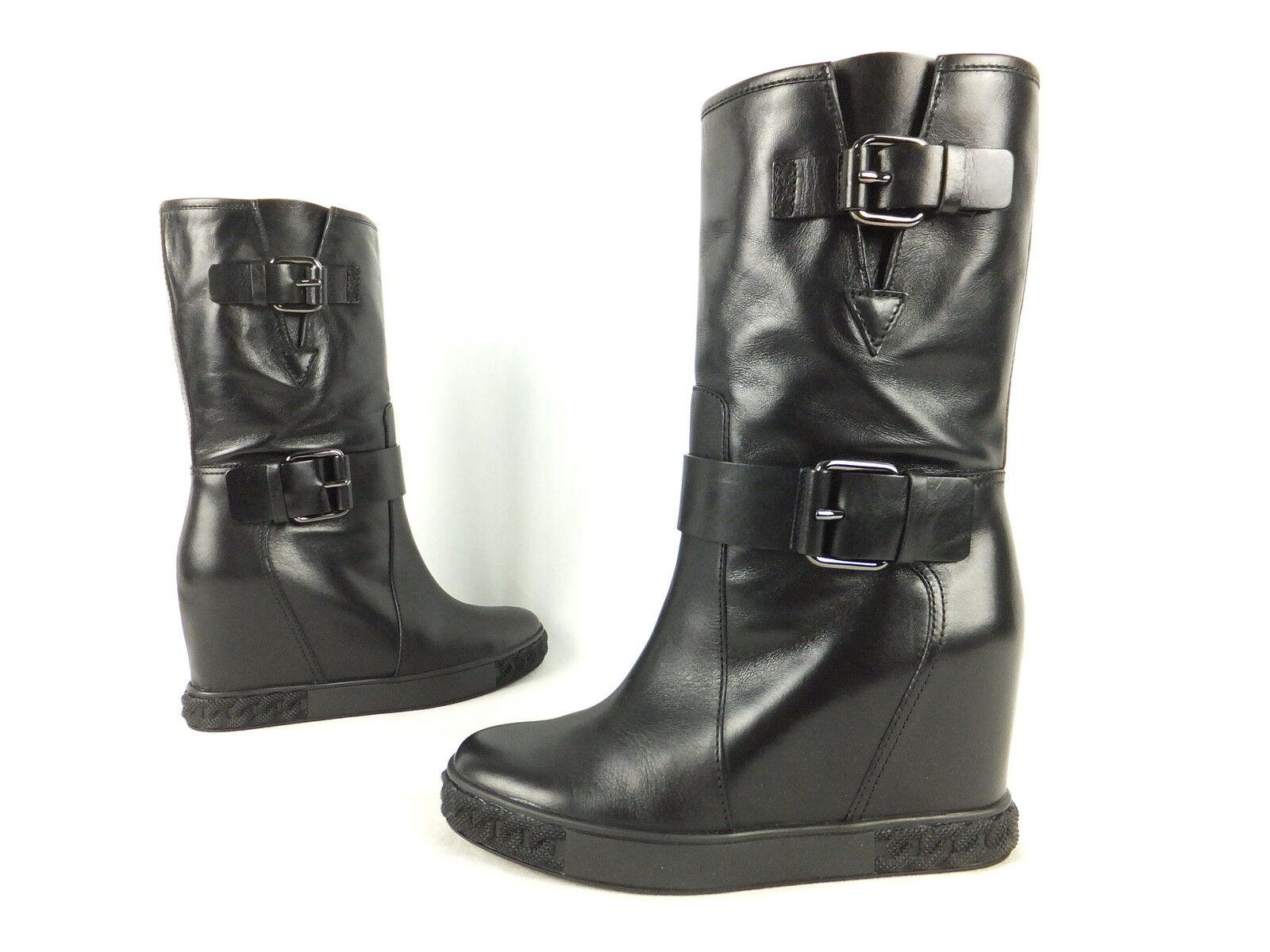 Casadei botas botín - 38-negro-nuevo de con caja de cartón-botas de 38-negro-nuevo lujo ea6d8d