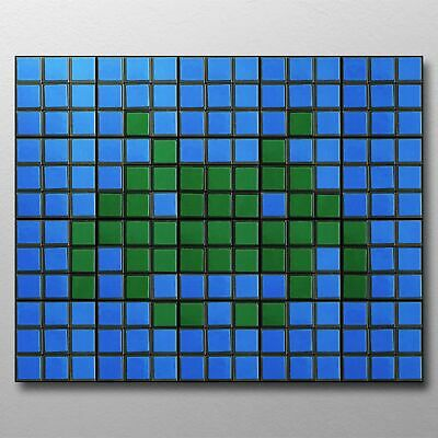 Space Invaders 20 Rubix Cube Mosaic DIY Puzzle Build Your ...