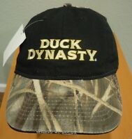 Duck Dynasty Camo And Black Hat - With Tags
