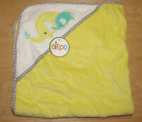 Circo Yellow Elephant Hooded Bath Towel