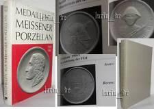 Book about East german Medal Meissen porcelain DDR NVA SED RedCross FDJ Medaille