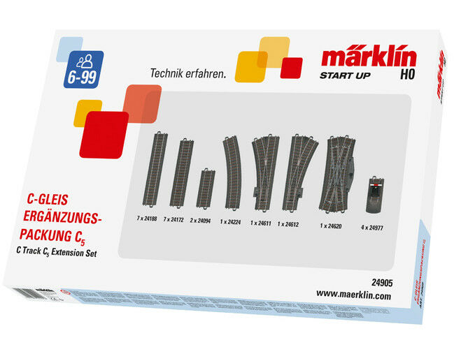 Märklin 24905 C-Complemento binario confezione c5 h0