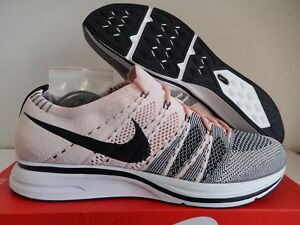 Image is loading NIKE-FLYKNIT-TRAINER-SUNSET-TINT-BLACK-WHITE-SZ- 61a087d83a