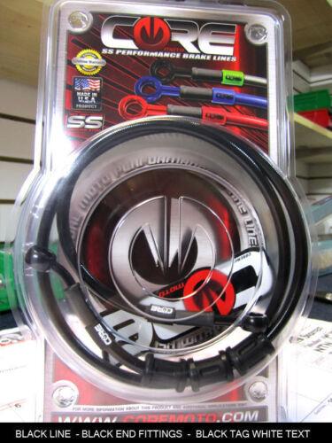 SUZUKI KATANA 600 1998-2006 CORE MOTO CUSTOM FRONT /& REAR BRAKE LINE KIT CC2013