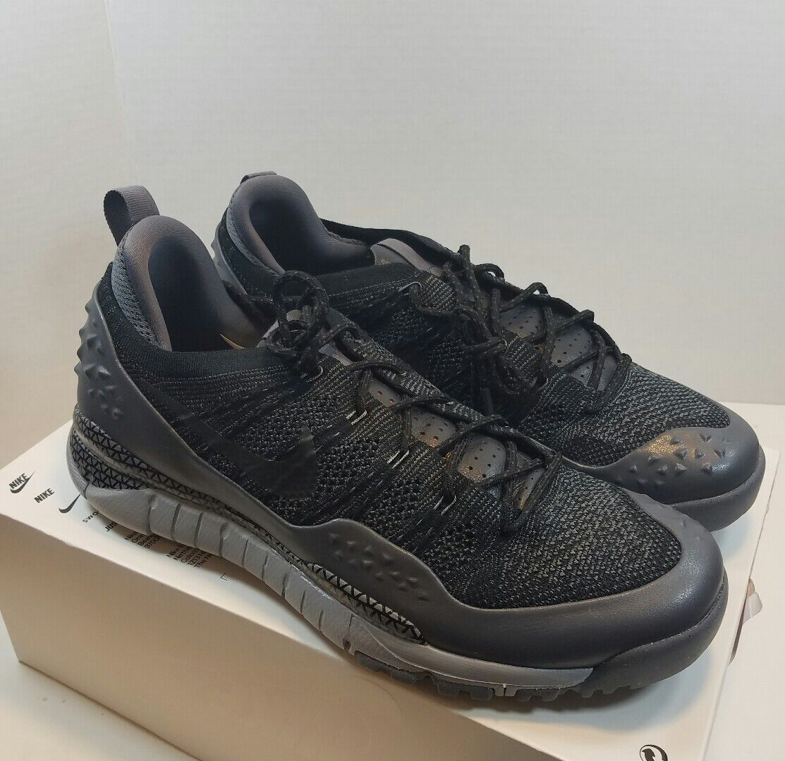 Nike Nikelab Men's Lupinek Flyknit ACG Low New Black/Grey 853954-001 8-13