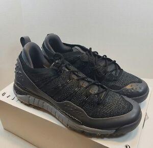 c33bfb1d607b Nike Nikelab Men s Lupinek Flyknit ACG Low New Black Grey 853954-001 ...