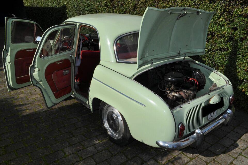 Renault Ondine Gordini, Benzin, 1962
