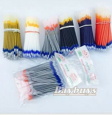 100PCS fabric Marker Textile Ink Pen Refill Patchwork Marking Pen