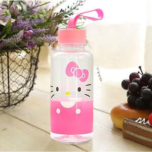 Hello Kitty Cute Kids Water Bottle Tumbler Cup 380ml Girls