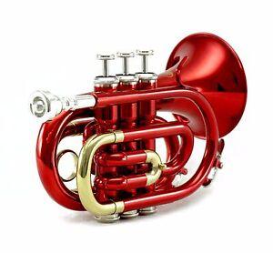 ** Cadeau ** Bande Approuvé Rouge/argent Poche Trompette Holiday Special-afficher Le Titre D'origine 9wqmiigt-07160820-475650824