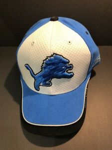 8f49c0e1 Details about NFL Authentic Reebok On Field NFL Equipment Detroit Lions Hat  Cap