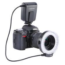 FC-100 LED Macro Ring Flash Light for Canon Nikon Pentax Olympus DSLR Camera USA