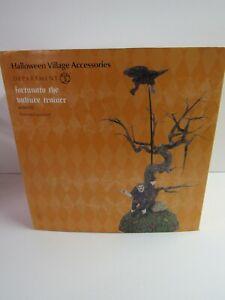Dept-56-Halloween-Village-Accessories-Fortunato-The-Vulture-Trainer-4056712-MIP