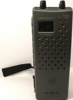 GE 3-5980 40-Channel Hand-Held Citizens Band Transceiver Pair New in Box
