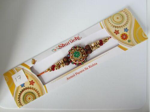 Banda de muñeca brazalete de boda Rakhi hermano /& hermana Amistad Pulsera Nº 17