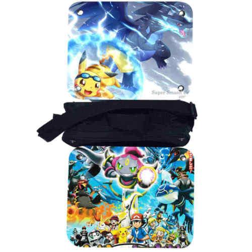 Pokemon Lunch Box Girls Boys Kids School Tote Bag Picnic Bag Cool Bag