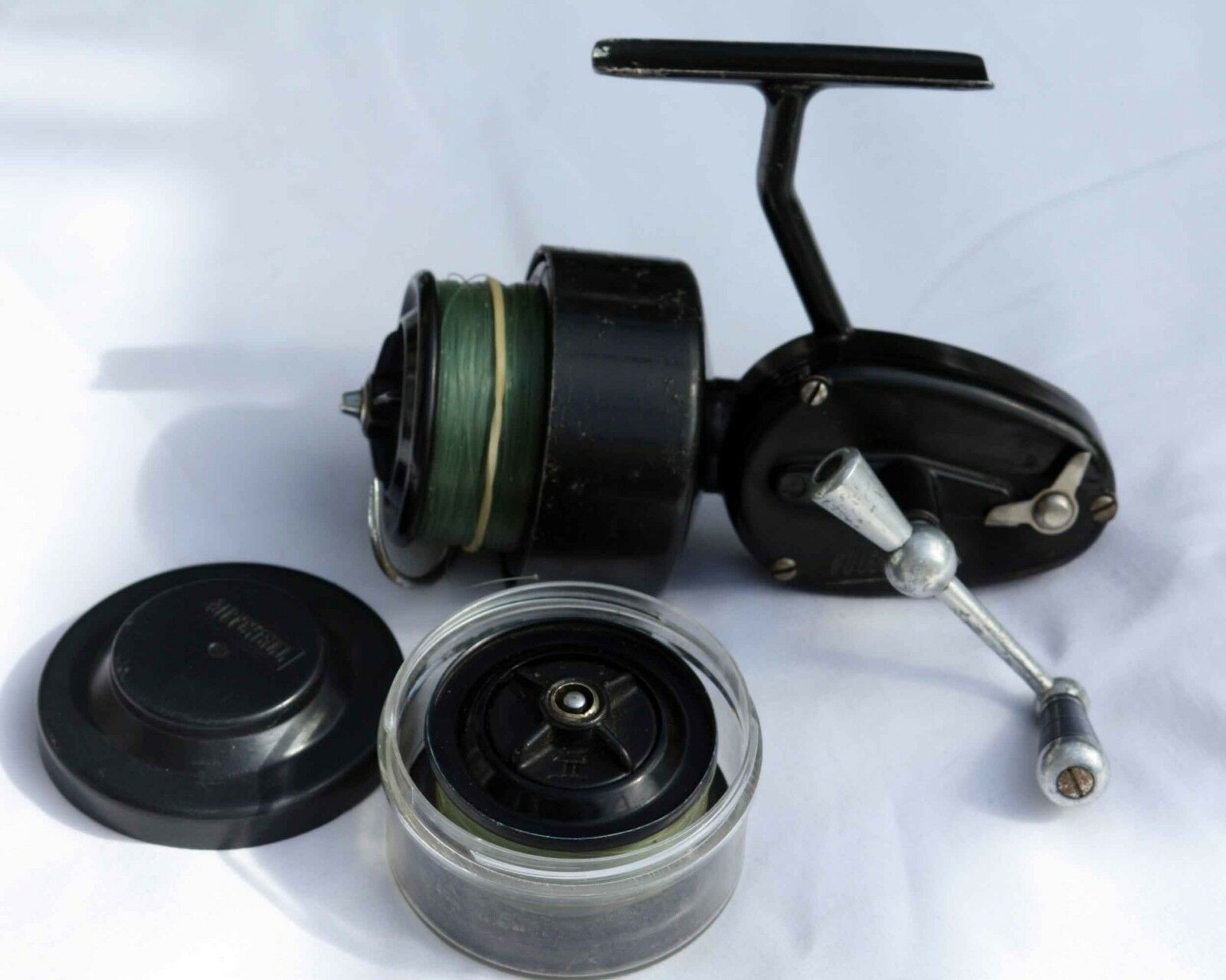 Vintage Early  Mitchell 300 Fixed Spool Fishing Reel  (Half Bail)