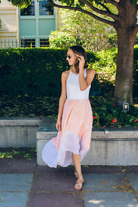 65d90555ddd6 NEW Anthropologie Peachy High-Low Dress by Hutch Size L & XL $168 | eBay