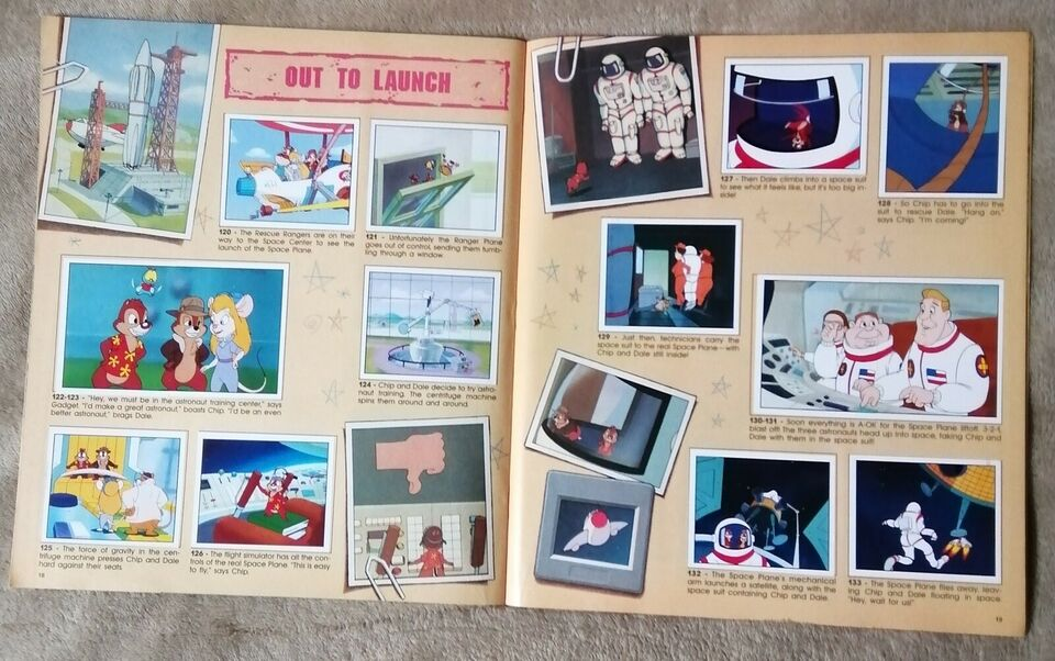 Klistermærker, Panini Disney Chip 'n Dale Rescue Rangers