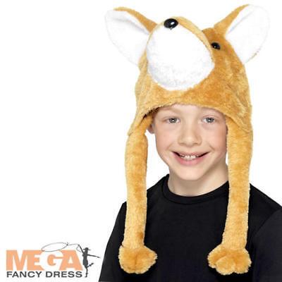 Fox Cappello Bambini Costume Signor Fattoria Degli Animali Ragazzi Ragazze Per Bambini Costume Accessorio-mostra Il Titolo Originale