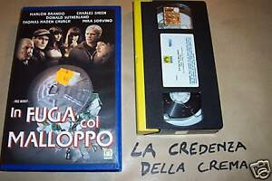La Credenza Della Crema : 4516] in fuga col malloppo 1999 vhs m. brando ebay