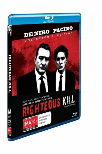 1 of 1 -  Righteous Kill (Blu-ray, 2009) Collectors Edition ** New Sealed **