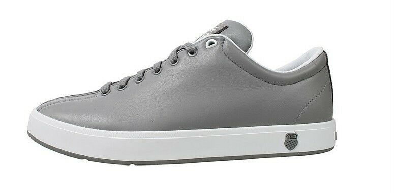 K-Swiss CLEAN CLASSIC Grey White Men's Training Casual shoes 02874035  L
