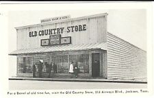 1940's The Old Country Store in Jackson, TN Tennessee PC