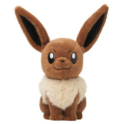 2013 Life Size Eevee Plush Doll by Pokemon Center Poke Toy 13inches RARE Gift