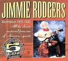 Recordings 1927-1933 [Box] by Jimmie Rodgers (Country) (CD, Sep-2002, 5 Discs, JSP (UK))