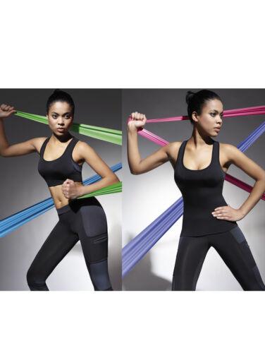Sport Shirt Top T-Shirt Radler Jogging Yoga Fitness Sportshirt stretch TEAMTOP