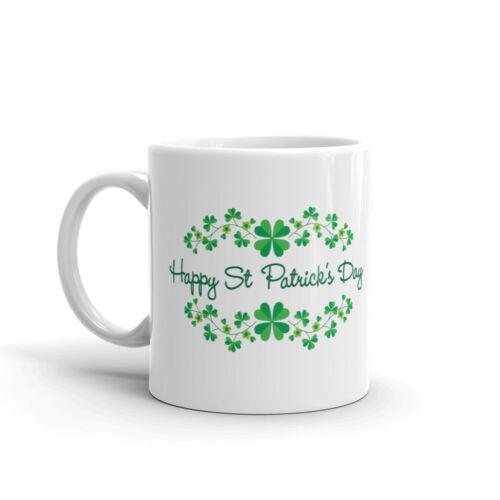 Happy St Patrick/'s Day Coffee Tea Ceramic Mug Office Work Cup Gift