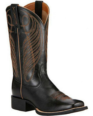 5aa5241cdb0 Women's Ariat Round Up Square Toe Boot Style 10018529 FREE SHIP | eBay