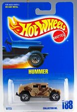 Hot Wheels Collector #188 Hummer SB's No Star On Hood MOC