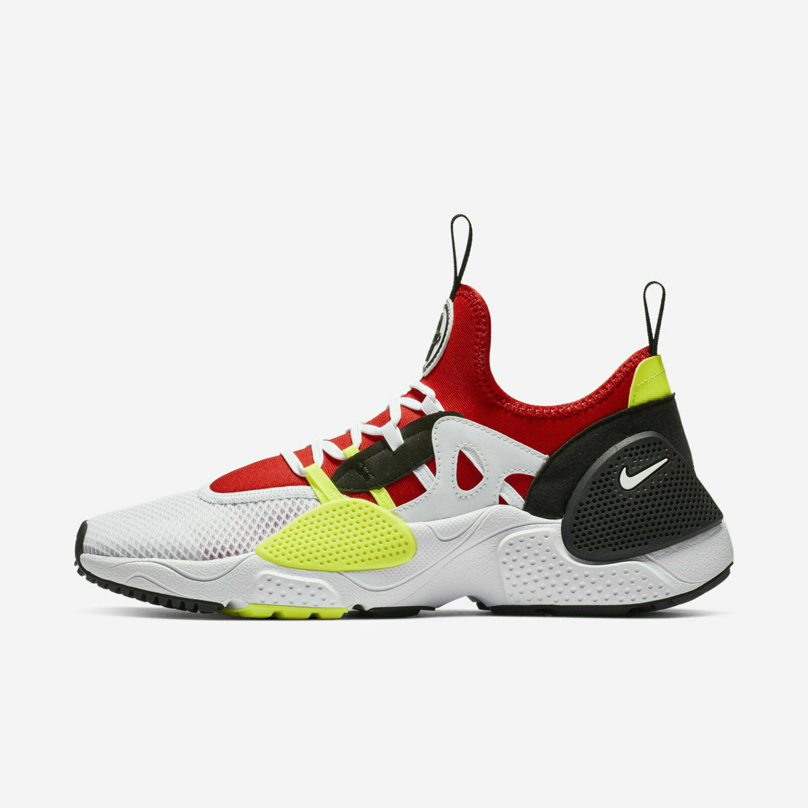 New Nike Men's Huarache E.D.G.E TXT shoes (AO1697-100) White University Red-Volt