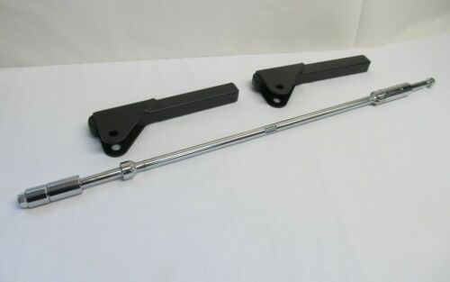 PRESTON 4 WHEEL SHUTTLE SPARE LONG AXLE BAR WITH 2 UPRIGHTS