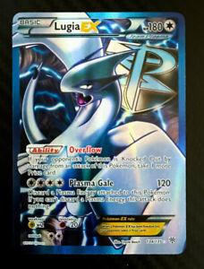 POKEMON • Lugia EX 134/135 URAGANO PLASMA STORM CARTA ULTRA FULL ART NM