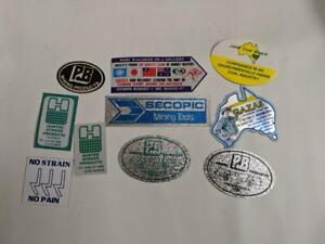 Retro-Mining-Sticker-10-Stickers-as-pictured-Lot-21