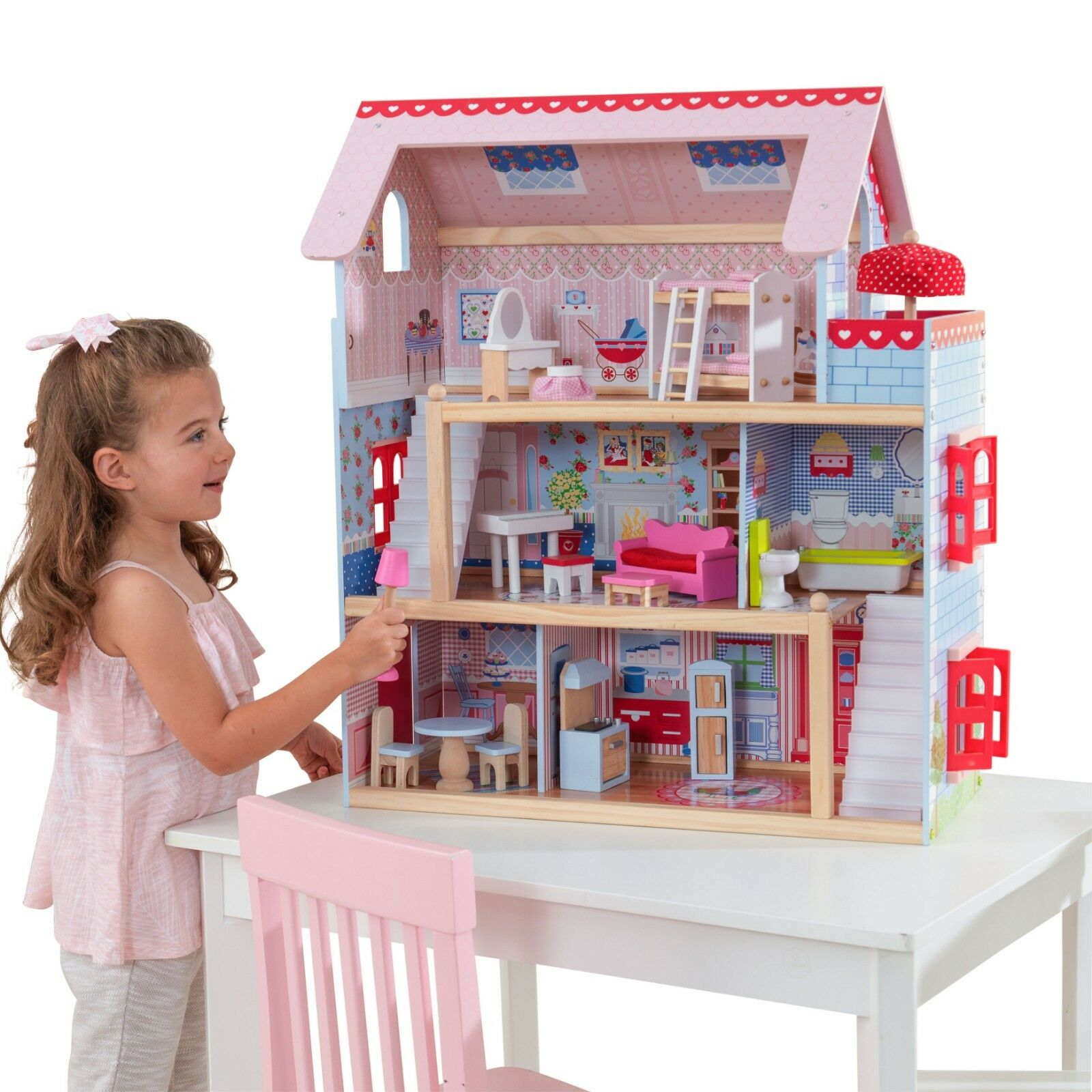 Calego Modern Doll House Soft Sided Open Front