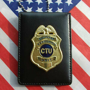 Props 24 Hours TV Series CTU Special Agent Prop Badge With