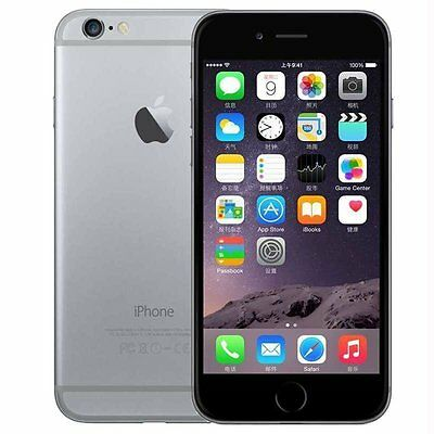 Unlocked apple iPhone 6 16GB GSM gris teléfono celular Garantía de 12 meses