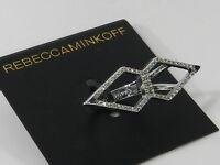 Rebecca Minkoff Double Open Blade Ring, 6.5