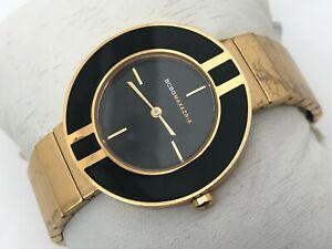 MCBGMAZRIA Women Watch Gold Tone Analog Ladies Wrist Watch Water Resistant 30M