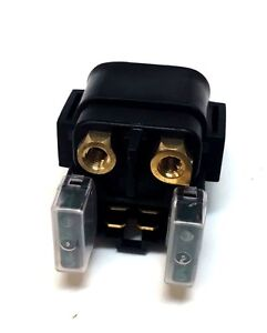 Starter Solenoid Relay 300cc to 500cc Solenoid with 2 Fuse 4-Pin Plug
