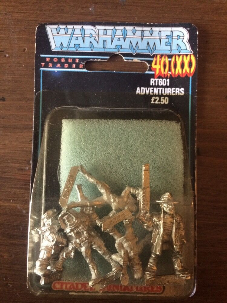Rogue Trader aventuriers X5 RT601 NEUF BLISTER très rare warhammer 40k